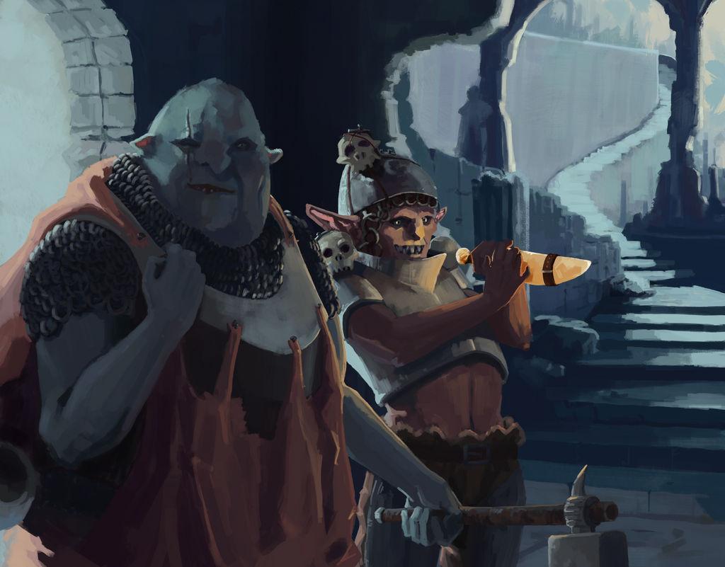 Orc Treasure Hunters