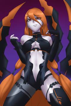 Night Crawler Corruption: Azura by Usagiforehead
