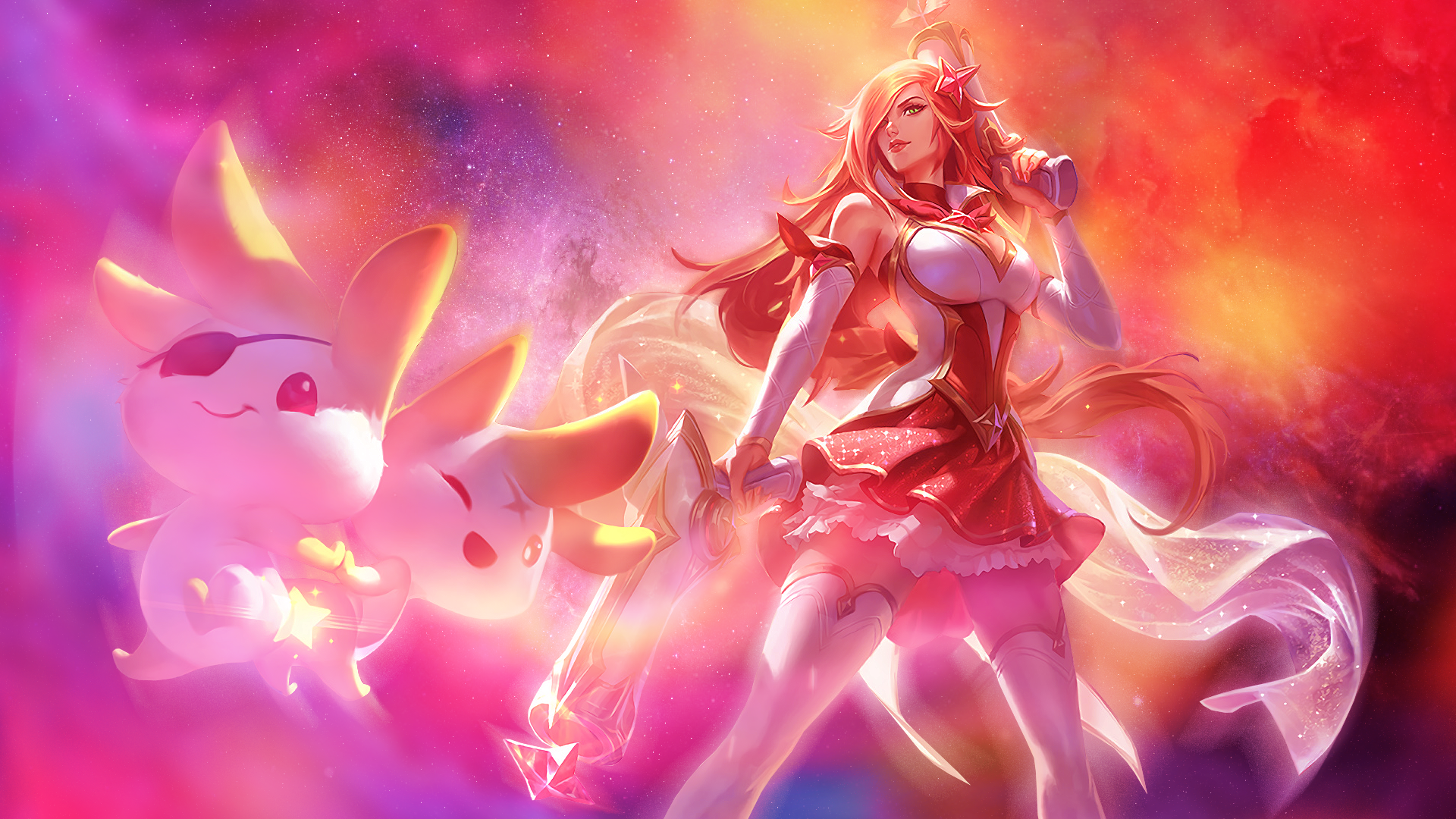 Lol Star Guardian Miss Fortune Wallpaper By Psychomilla On