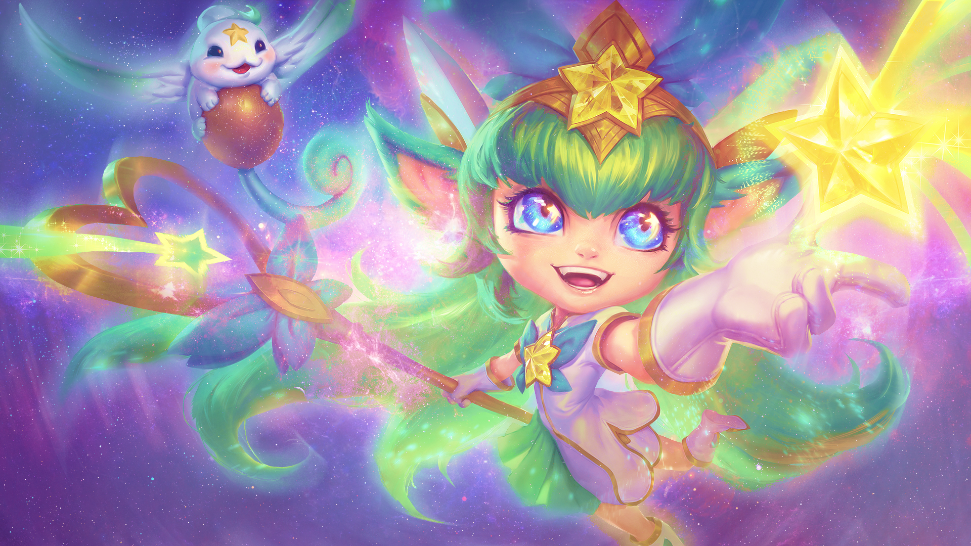 Lol Star Guardian Lulu Wallpaper By Psychomilla On Deviantart