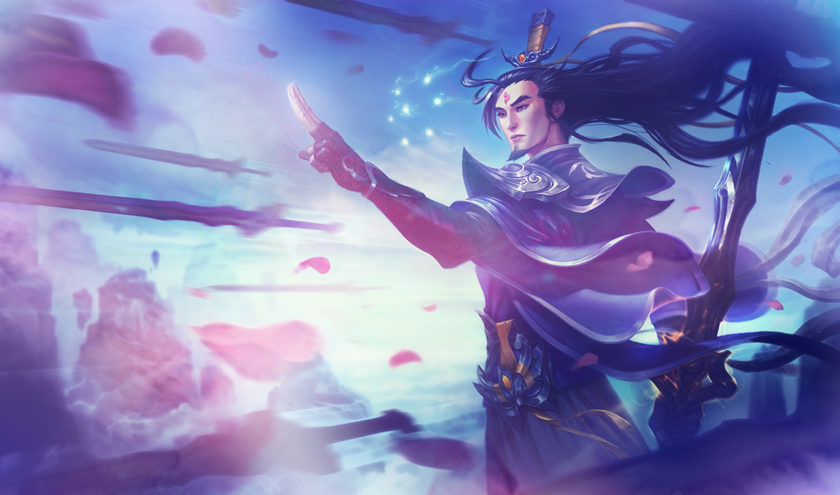 Lol Eternal Sword Yi Wallpaper By Psychomilla On
