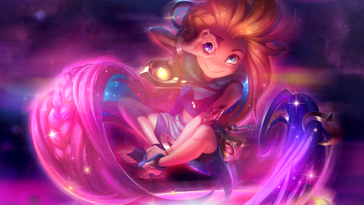 League of legends zoe wallpaper by psychomilla on - Zoe wallpaper ...