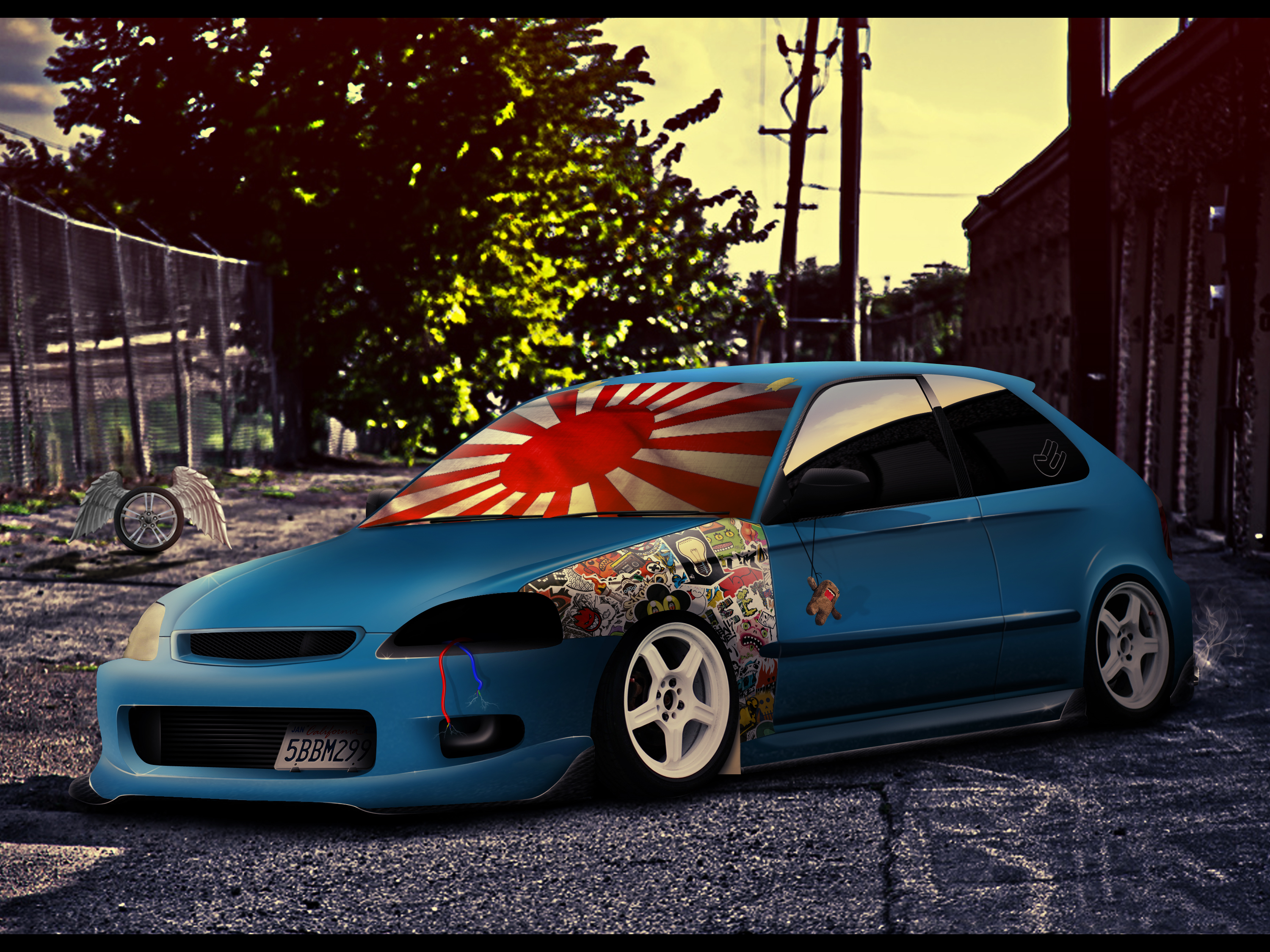 Excellent Honda Civic Jdm By Willsdesign With Honda Civic Si Jdm