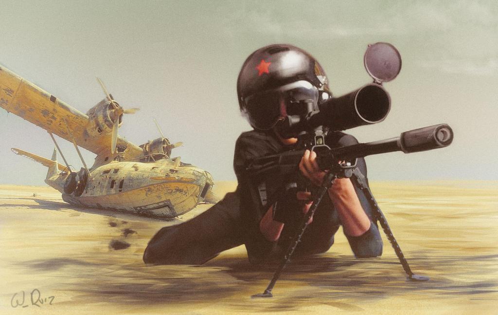Sniper by vile72