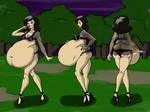 Serleena belly views