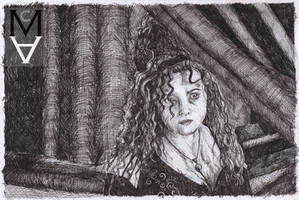 Bellatrix Lestrange by sarah-mca-art