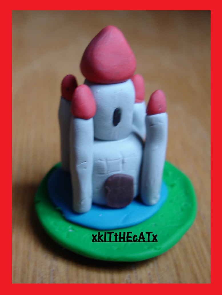 clay castle by xkitthecatx on deviantart