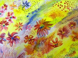 Yard of Flowers... by sgarciaburgos