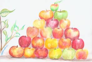 Apples by sgarciaburgos