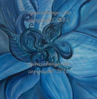 Blauer Lotos by sgarciaburgos