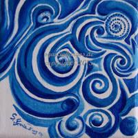 Blue Waves by sgarciaburgos