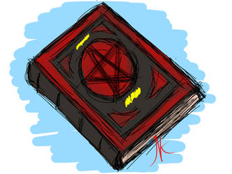 Daily Sketch - 12-06-15 - Books by Nekroskoma