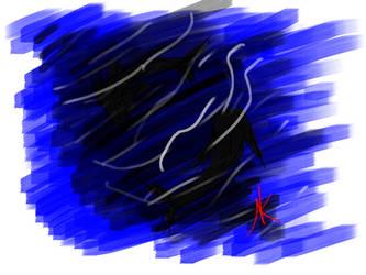 Daily Sketch - 12-14-15 - Open Water by Nekroskoma