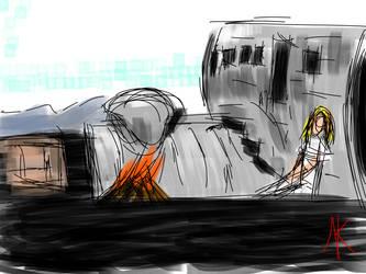 Daily Sketch - 12-19-15 - Music Videos by Nekroskoma