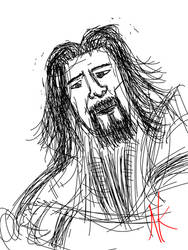 Daily Sketch - 12-20-15 - Movies? by Nekroskoma