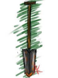 Daily Sketch - 12-26-15 - Spade by Nekroskoma
