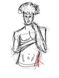 Daily Sketch - 01-15-16 - Freedraw Friday by Nekroskoma