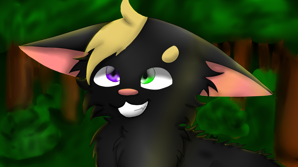 Lineless and fur Practice by skyfeather0066