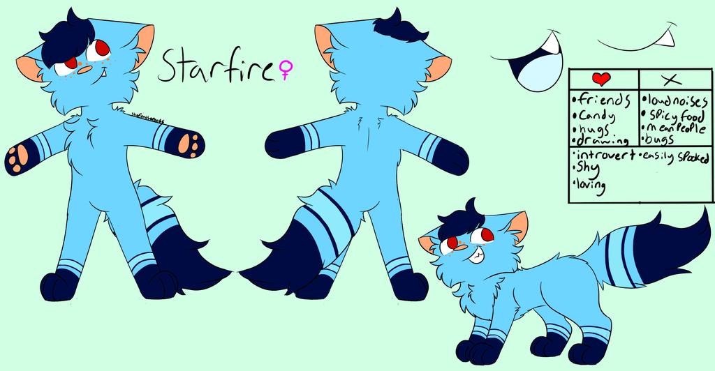 Starfire Ref 2018 by skyfeather0066