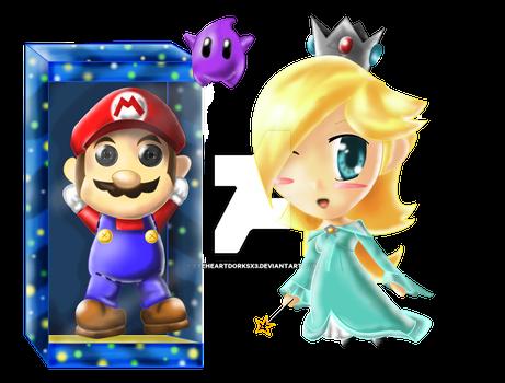 Rosalina and Mario