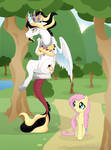 Prince Pax and Fluttershy
