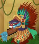 Aztec Warrior Ahuizotl