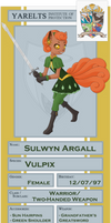PKMN-KA Application - Sulwyn Argall