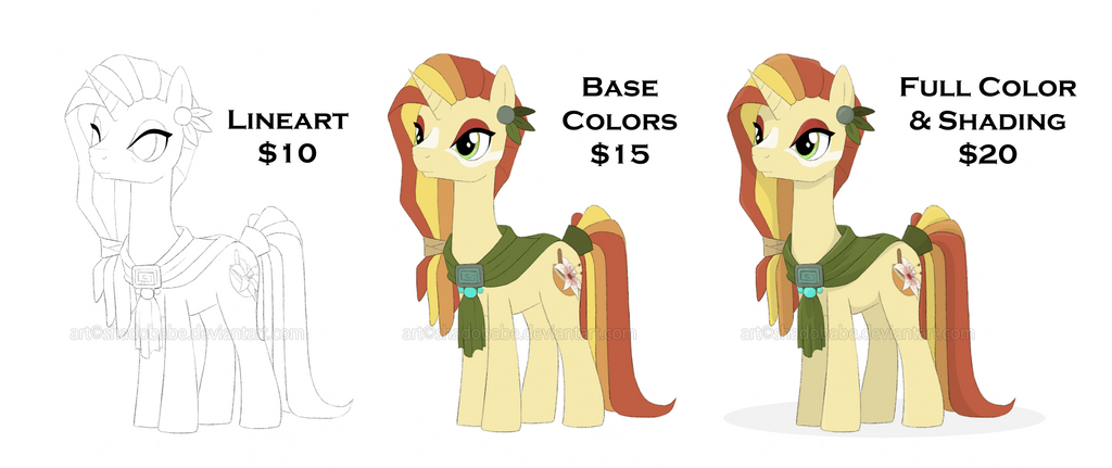 Commission Prices by ShadOBabe