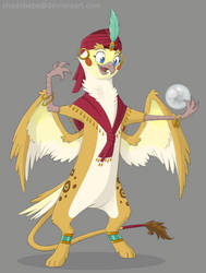 The Golden Acorn: Kemat the Gryphon by ShadOBabe