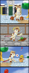 [Creature Crossing] New Town Life - Luz by ShadOBabe