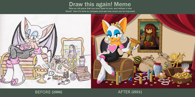 Draw It Again Meme - Master Treasure Hunter