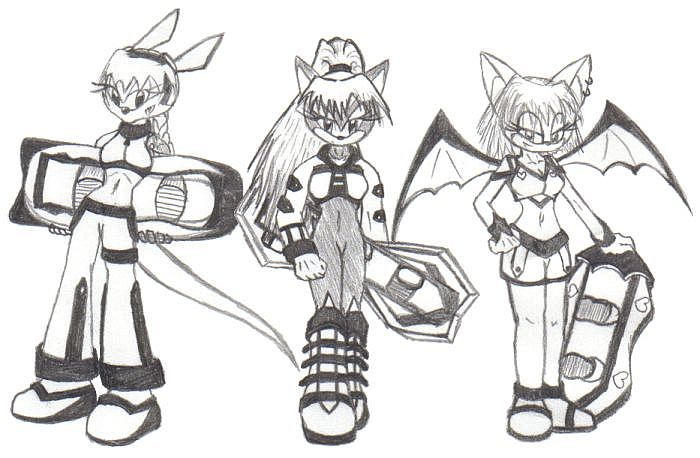 Lady Sonic Riders by ShadOBabe