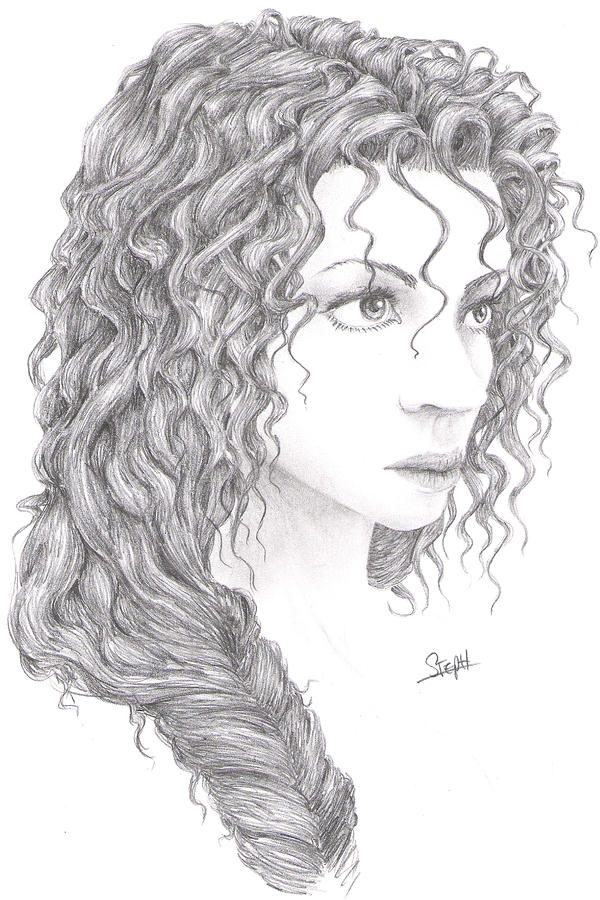 Curly hair by marsfalling