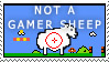 Not a Gamer sheep by WildfireFox
