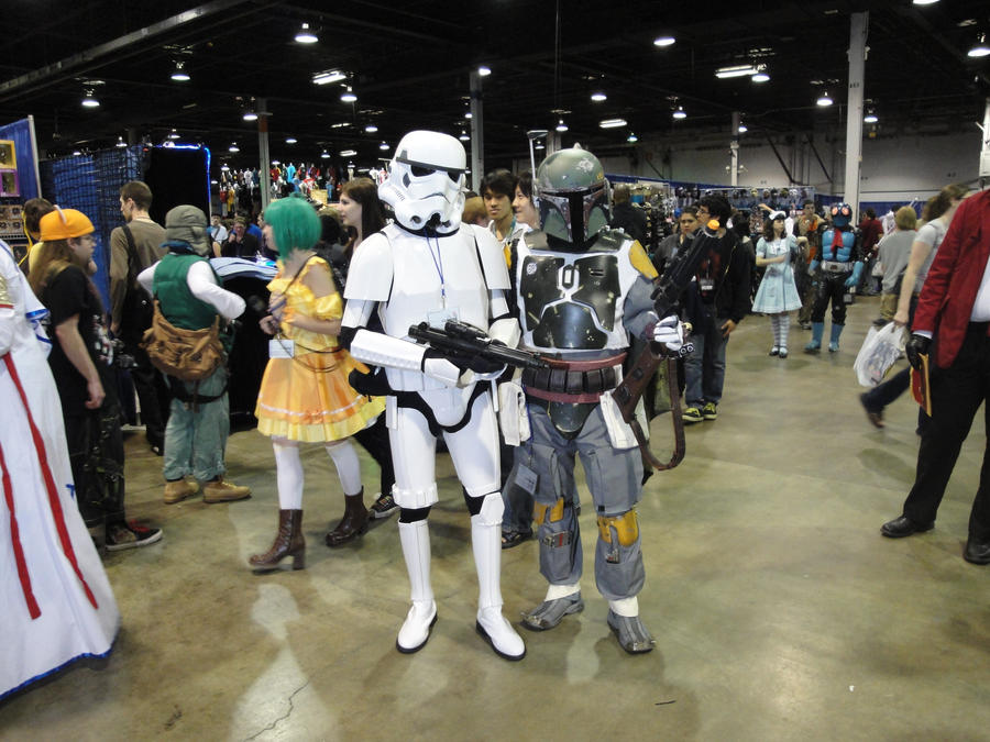 Fett and trooper by Zachg56