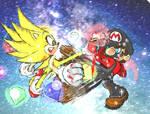 Sonic VS Mario final round