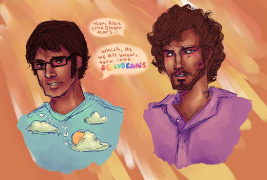 Flight of the Conchords by Edifonso