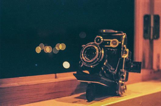 Folding camera 'Moskva5'