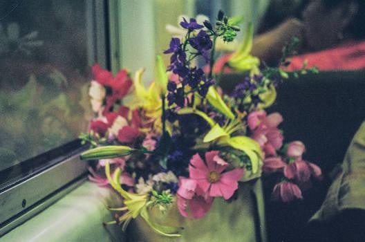 Train Flowers