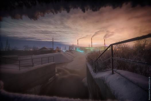 Warm Station at -37C