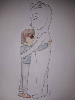 Ice Bear and Chloe (Request-2/2)