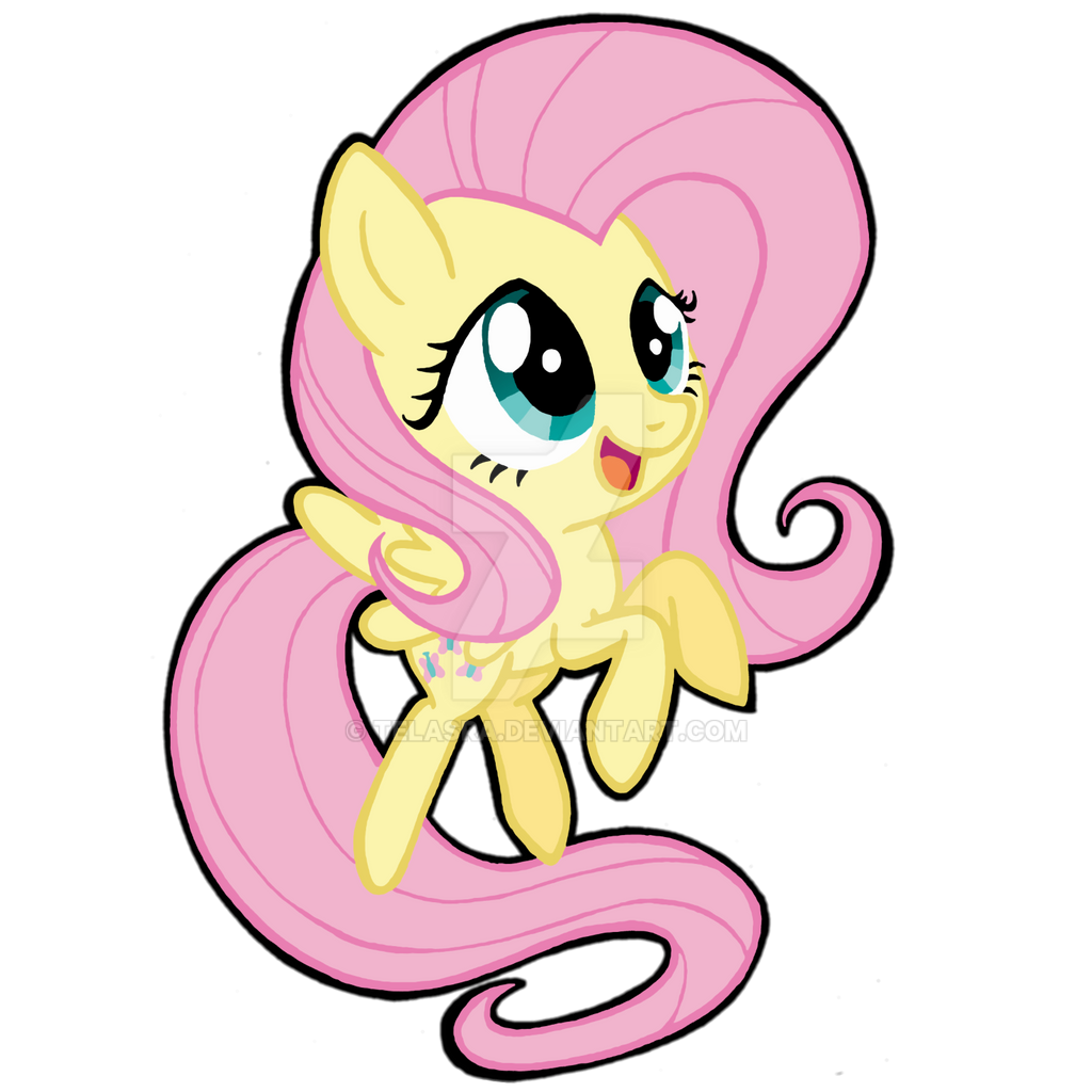 Chibi Fluttershy by Telasra on DeviantArt