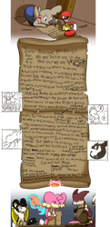 Treble and Hector's Letter :: Team Heal Bell E7 by RainbowFilled