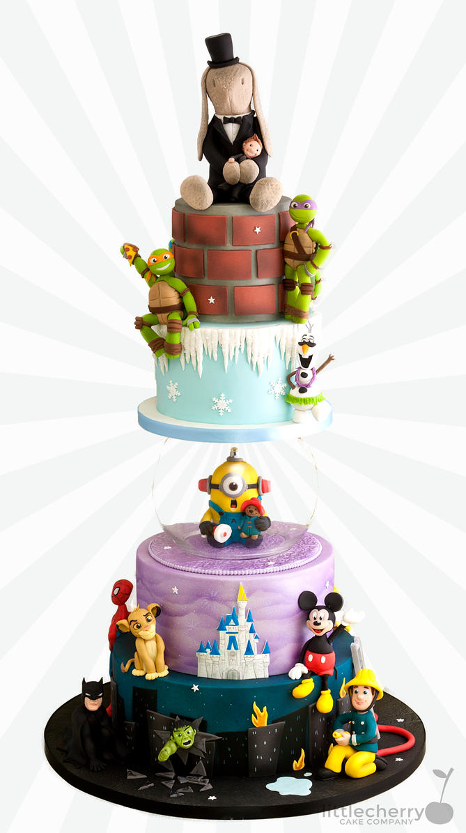 Wedding Cake Images Cartoon : BlackCherryCake (Tracey) DeviantArt