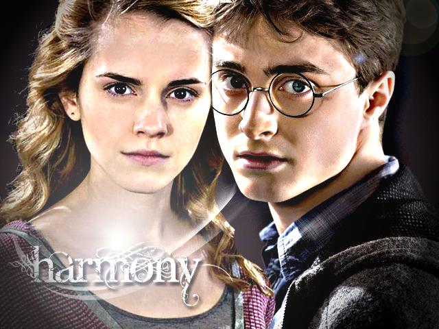 Harry and Hermione - Harmony by xmcpheeverx