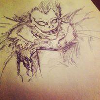 Ryuk - Death Note by MademoiselleRougeArt