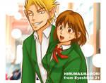 Hiruma and Mamori