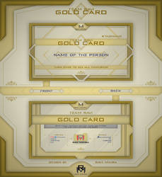 Gold Cards by ravierrm