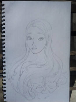 Cantabile bust sketch