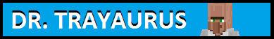 Dr. Trayaurus Fan Button